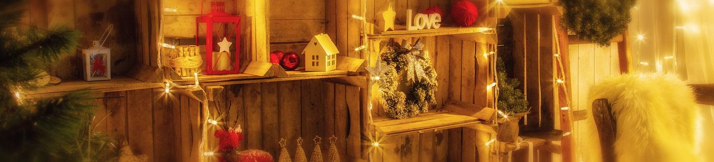Led weihnachtsbeleuchtung f r innen au en - Weihnachtslichterketten innen ...