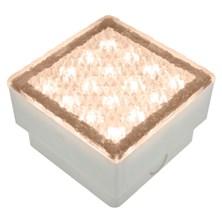 Mattonella Led bianco caldo, 1,5 W, 100 x 100 mm