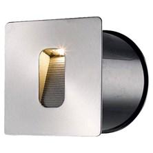 Faro da parete, segnapasso a LED bianco caldo, 3 Watt, grigio chiaro
