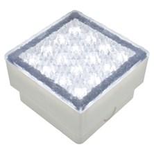 Mattonella LED bianco, 1,5W, 100x100