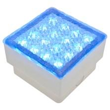 Mattonella LED blu, 1,5W, 100x100