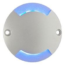 Segnapasso LED blu, 0,8W, 2 finestre