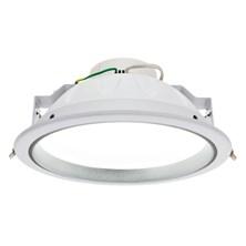 Faro da incasso a LED bianco naturale, 25W, ghiera bianca